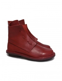 Trippen Solid red ankle boots SOLID-RED order online