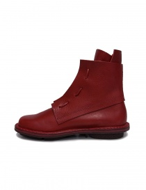Trippen Solid red ankle boots