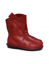 Trippen Exit red ankle boots