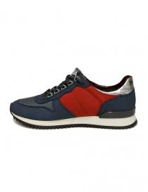 Sneaker Golden Goose Haus blu rosso