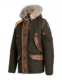 Parajumpers Forrest bush green down jacket