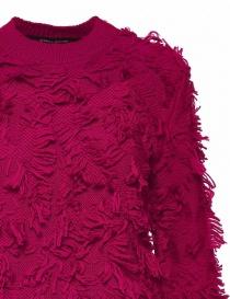 Alessia Xoccato magenta red sweater