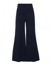 Pantaloni donna online: Pantalone denim Alessia Xoccato colore blu