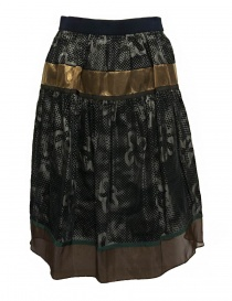 Kolor dark grey skirt 17WPL-S05135-A-DARK order online