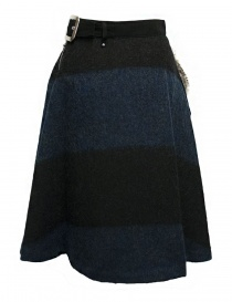 Kolor blue black skirt