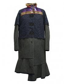 Womens coats online: Kolor grey coat