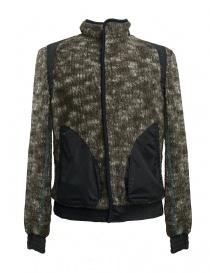 Giubbino Kolor colore marrone camouflage 17WMC-G19205-A-BROWN order online