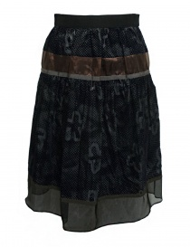Womens skirts online: Kolor blue grey skirt