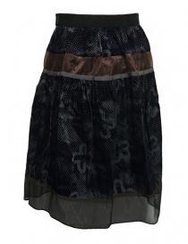 Kolor blue grey skirt