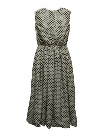 Womens dresses online: Sara Lanzi pois black and white dress