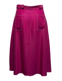 Sara Lanzi cyclamen pink skirt