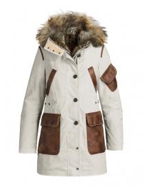 Womens coats online: Parajumpers Nicole chalk parka coat