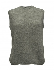 Sara Lanzi gray wool sweater 02J-WNW-07-SWEATER-GR order online