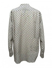 Sara Lanzi black and white dotted shirt