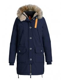 Parajumpers Inuit navy parka jacket PWJCKPQ32-INUIT-W562 order online
