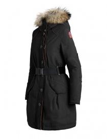 Parajumpers Borah black parka coat