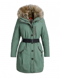 Cappotti donna online: Cappotto parka Parajumpers Borah colore verde muschio