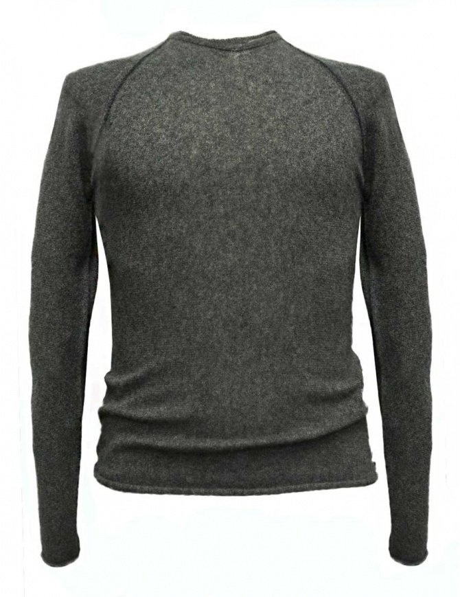 Maglia Label Under Construction Zipped Seams Yardstick colore grigio 30YMSW155-WS35-30-57 maglieria uomo online shopping