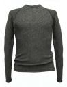 Maglia Label Under Construction Zipped Seams Yardstick colore grigio acquista online 30YMSW155-WS35-30-57