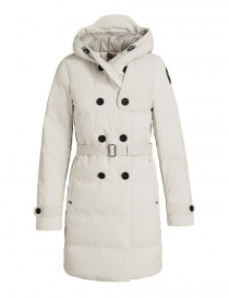 Parajumpers Hakuro chalk white dust coat PWJCKKG43-HAKURO-W770 order online