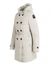 Parajumpers Hakuro chalk white dust coat