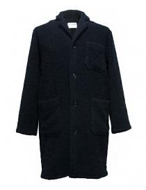 Cappotti uomo online: Cappotto Camo Ribot colore navy