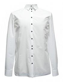 Camicie uomo online: Camicia Label Under Construction Invisible Buttonholes colore bianco