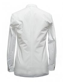 Camicia Label Under Construction Invisible Buttonholes colore bianco