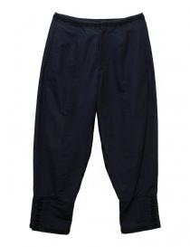Pantaloni donna online: Pantalone Miyao colore blu navy