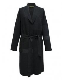 Womens coats online: M.&Kyoko dark grey coat