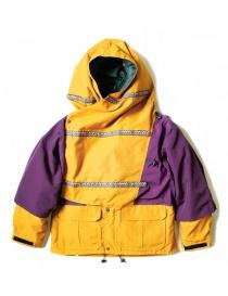 Kapital Kamakura yellow and purple anorak jacket K1708LJ001-PURPLE order online