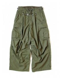 Pantaloni uomo online: Pantalone Kapital Jumbo Cargo colore verde
