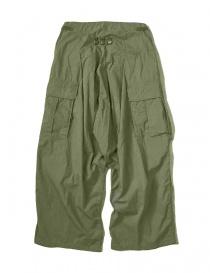Pantalone Kapital Jumbo Cargo colore verde