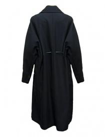 Cappotto Rito in lana colore navy