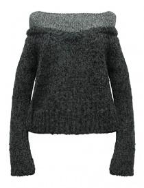 Womens knitwear online: Rito alpaca grey sweater