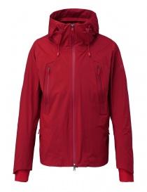 Giubbini uomo online: Giubbino Allterrain by Descente Inner Surface Technology Active Shell colore rosso