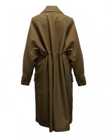 Cappotto Rito in lana colore cammello