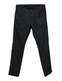Mens trousers online: Roarguns stretch black trousers