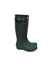 Stivale Hunter colore verde HUSORGRDW231 order online