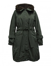 Womens suit jackets online: 'S Max Mara Urbanv khaki green down jacket