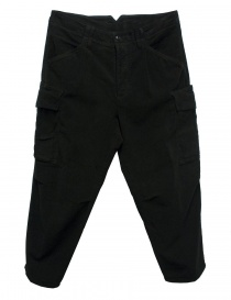 Cellar Door Cargo black trousers CARGO-P108-99 order online
