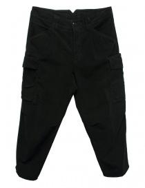 Pantalone Cellar Door Cargo colore nero CARGO-P108-99 order online