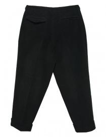 Pantalone Cellar Door Leo T in velluto nero