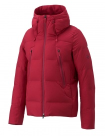 Allterrain by Descente Misuzawa Mountaineer red down jacket