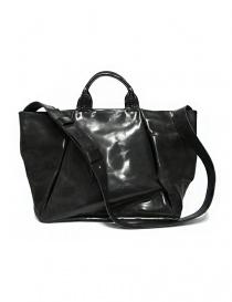 Delle Cose style 752 asphalt leather bag 752-HORSE-POLISH-ASF order online
