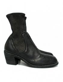Calzature donna online: Stivaletto Guidi SB96D in pelle nera