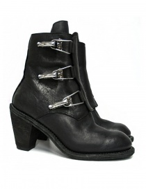 Guidi 3095G black leather ankle boots 3095G-BUFFALO-FULL-G order online
