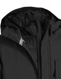 Parajumpers Toudo black parka coat mens coats price