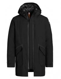 Parajumpers Toudo black parka coat online