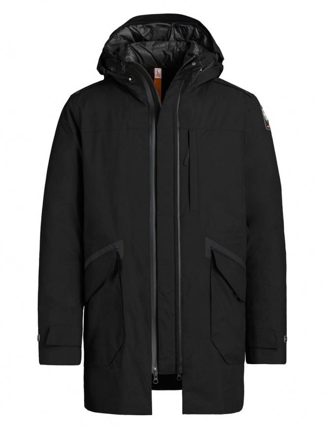 Parajumpers Toudo black parka coat PWJCKKG32-TOUDO-W532 mens coats online shopping